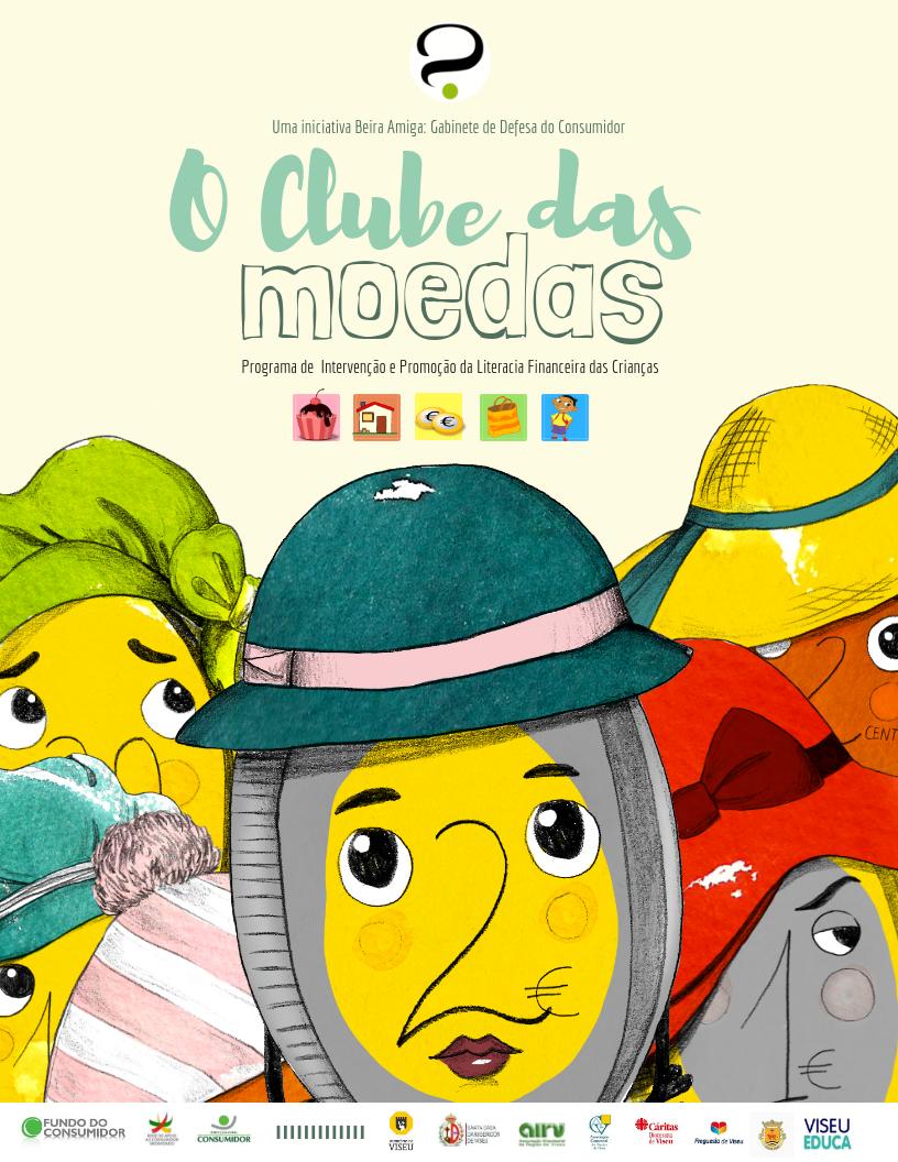 O Clube das Moedas - Cartaz Promocional (JPEG)